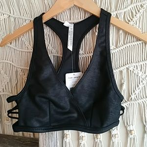 FreevPeople Cut Out Sports Bra